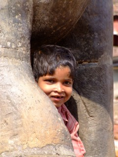 Smiling faces in Nepal