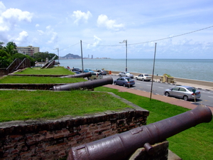 Cannon from Fort Cornwallis