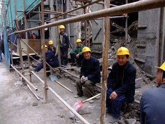 Beijing Construction Workers