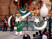 Pakistan India land border